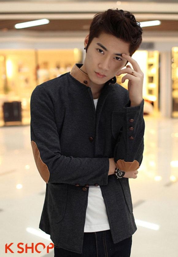 Áo khoác Hàn Quốc đẹp nhẹ nhàng cho chàng