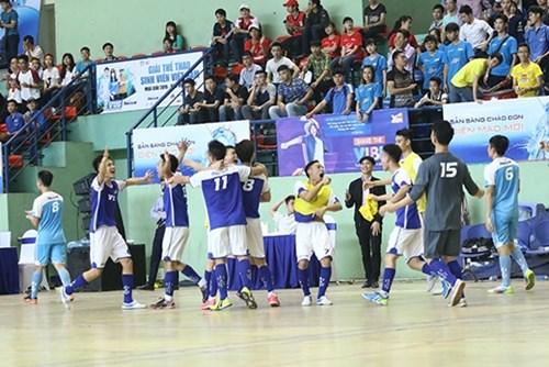 """Giải thể thao sinh viên đón chờ """"chảo lửa"""" Futsal"""