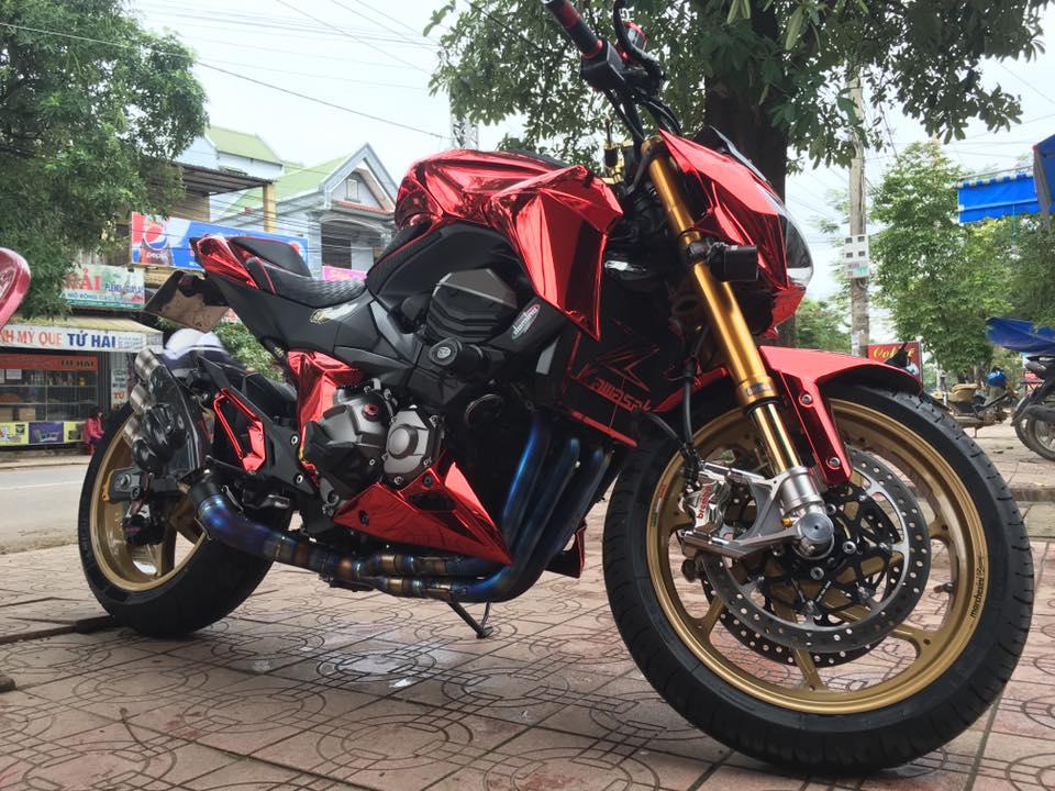 Kawasaki Z800 độ cực đỉnh của tay chơi Việt