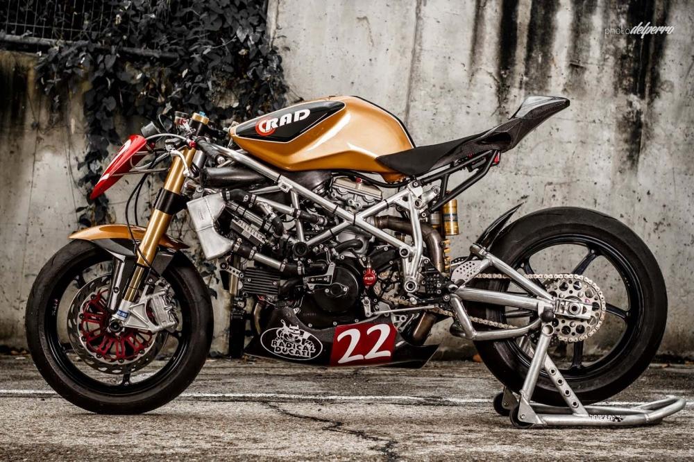 Ngắm Ducati 1198 độ phong cách Cafe Racer cực độc