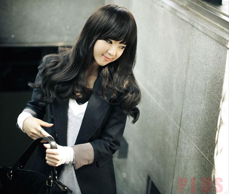 Tóc xoăn dài đẹp phong cách cho nàng sành điệu