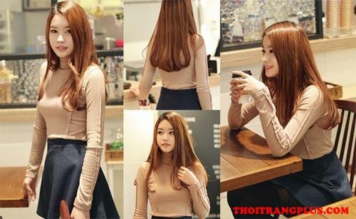Tóc xoăn đẹp Hàn Quốc lôi cuốn dịu dàng