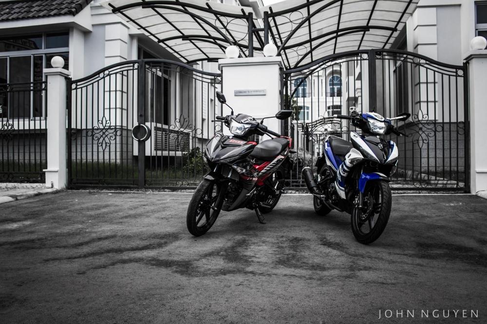 Bộ đôi Exciter 150 độ mạng nét đẹp vốn có của Yamaha