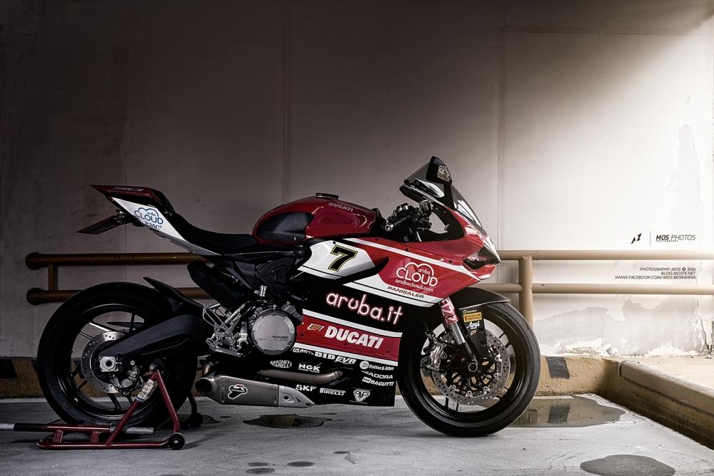 Ducati 899 Panigale độ tem đấu cá tính