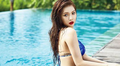 HyunA gợi ý mặc đồ bơi gợi cảm bỏng mắt