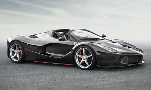 Chi tiết siêu phẩm Ferrari LaFerrari Spider
