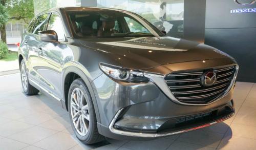 Hình ảnh chi tiết Mazda CX-9 thế hệ mới