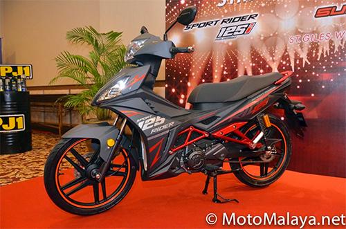Cận cảnh chi tiết SYM Sport Rider 125i vừa được ra mắt