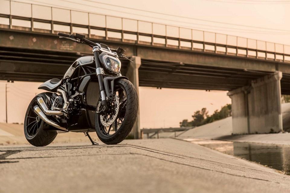 Vẻ đẹp tuyệt vời của Ducati XDiavel trong bản độ từ Roland Sands Design