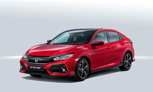 Civic X hatchback 2017 của Honda trình làng