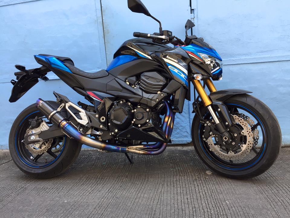 Kawasaki Z800 2016 cực ngầu gác pô titan hơn 10 triệu đồng