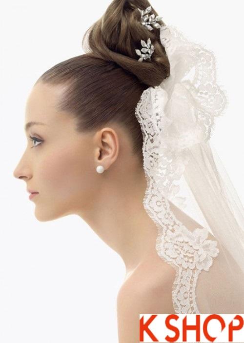 4 Kiểu tóc cô dâu đẹp cho bạn gái duyên dáng