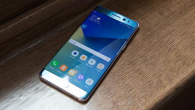 Danh sách 7 smartphone thay thế tốt nhất cho Galaxy Note 7