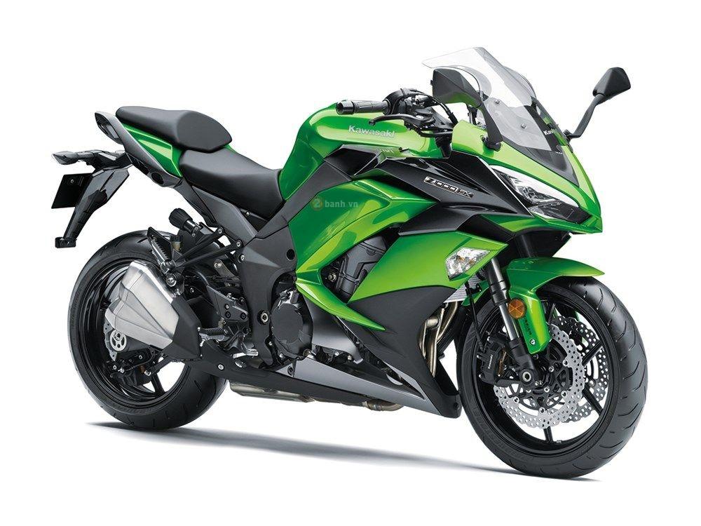 Kawasaki Z1000SX 2017 với nhiều tính năng mới