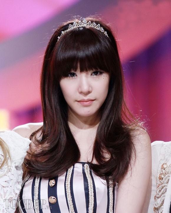 Những kiểu tóc mái bằng đẹp Hàn Quốc
