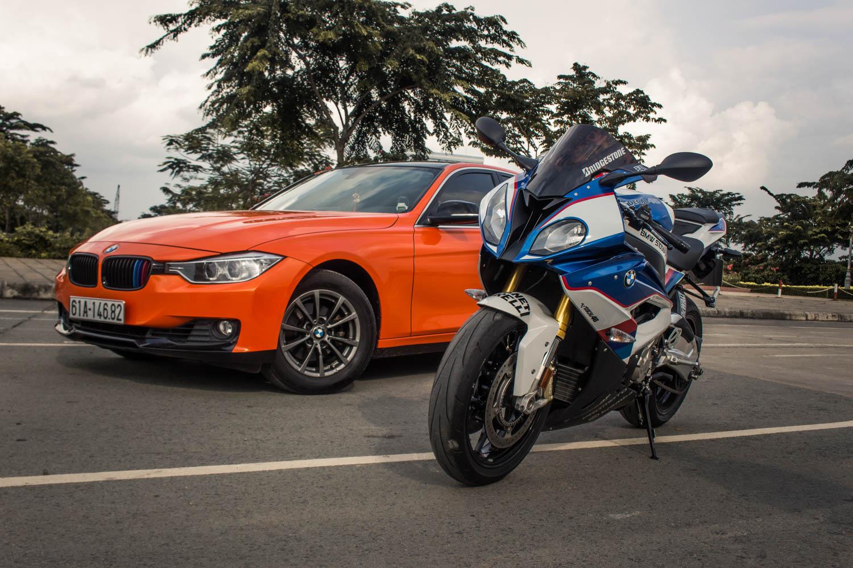Siêu mô tô BMW S1000RR lên tem M Series tại Sài Gòn