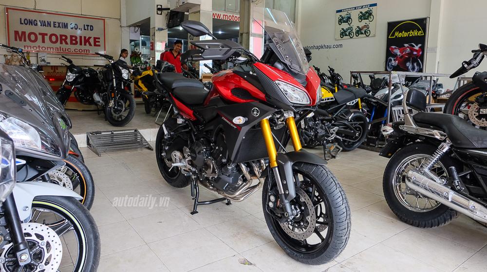 Cận cảnh Yamaha MT-09 Tracer 2016 giá 300 triệu Đồng tại Việt Nam