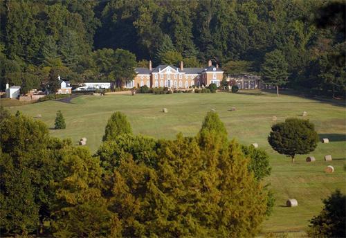 Khu nhà giữa vườn nho ở Virginia