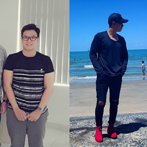 Giảm 20kg trong 5 tháng gây sốt với ngoại hình hot boy