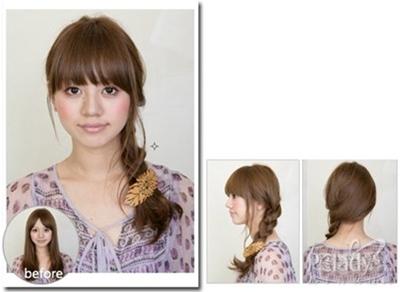 Hướng dẫn tạo kiểu tóc đẹp cho cô nàng thêm năng động
