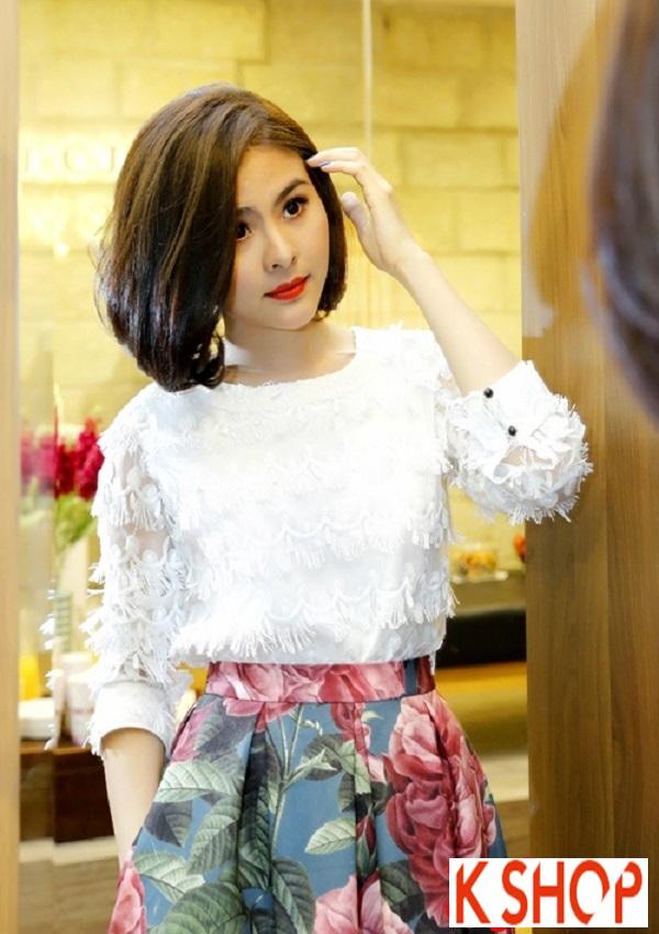 Tóc ngắn ngang vai đẹp của sao Việt nổi bật