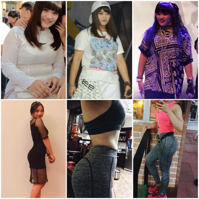 Cách mà cô nàng giảm 28kg trong 17 tháng