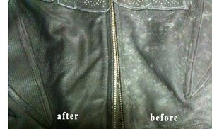 Cách xử lý khi áo khoác da bị mốc