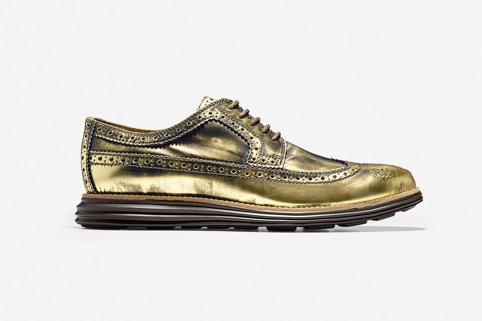 Những mẫu giày Cole Haan màu vàng ấn tượng