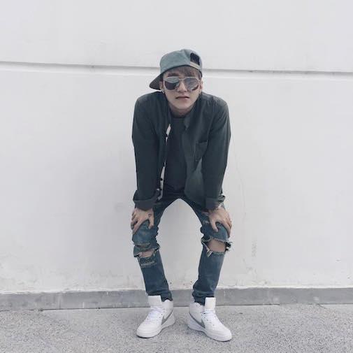 Phong cách quần jeans rách của Sơn Tùng M-TP