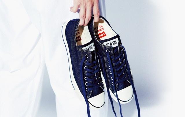 Thời trang giày nam với sự kết hợp Levi's