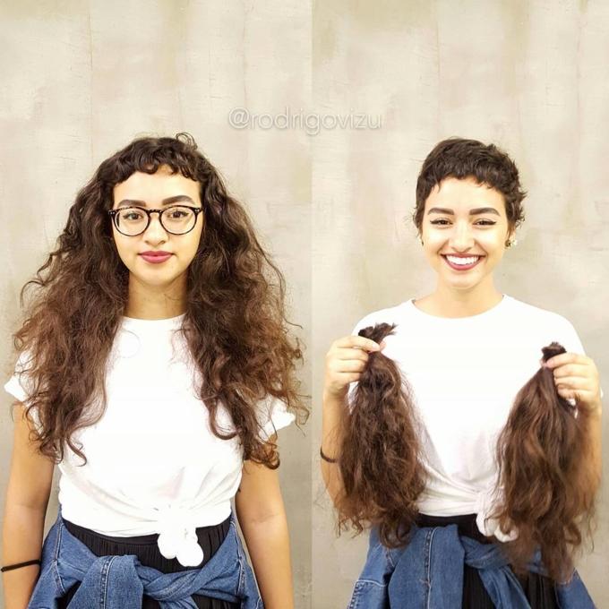 Chỉ vài nhát kéo đối với bộ tóc, diện mạo con người sẽ thay đổi