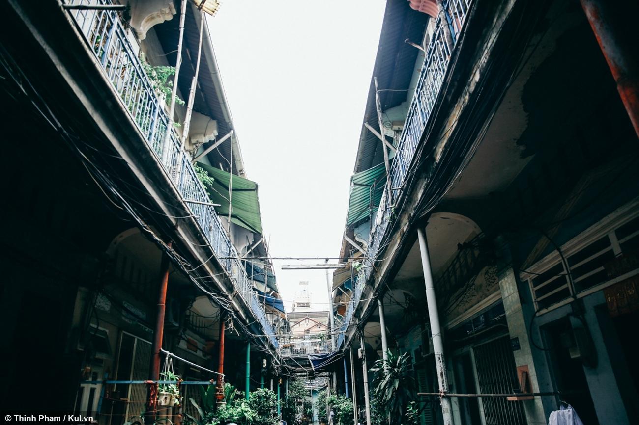 Hẻm sống chậm giữa lòng Sài Gòn đầy ký ức