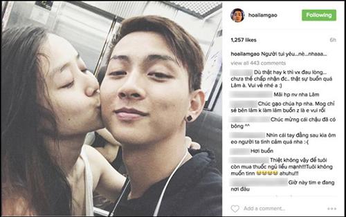 Hoài Lâm công khai hẹn hò với bạn gái hot girl