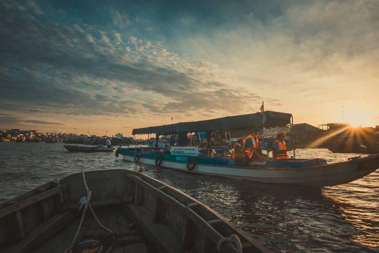 Chợ nổi Cái Răng- Cần Thơ, địa điểm du lịch hấp dẫn