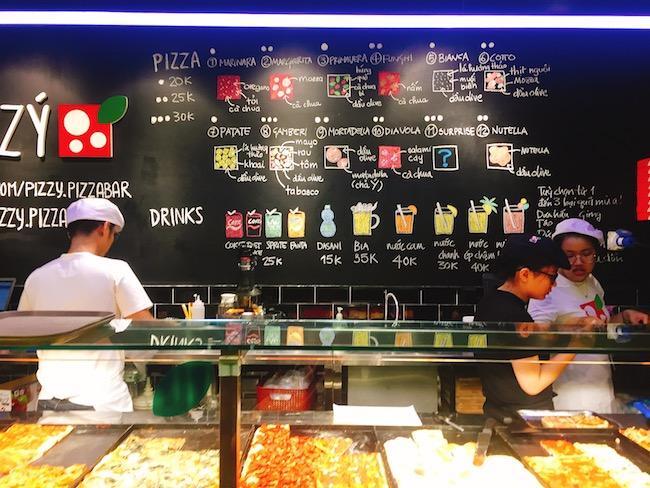 Cầm 20k ăn ngay pizza chuẩn Ý