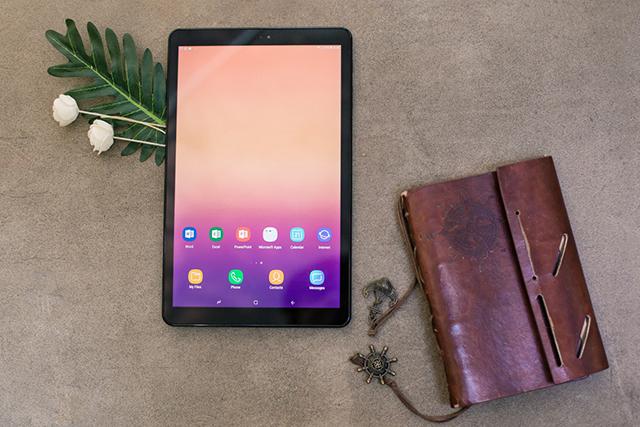 """Galaxy Tab A 10.5"""" Thừa khả năng giải trí đỉnh cao"""