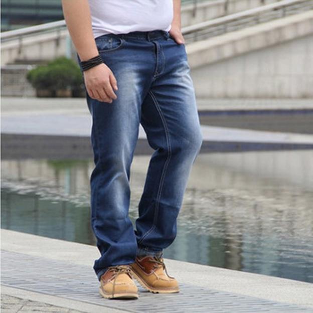Mẹo chọn quần jean cho chàng béo cá tính