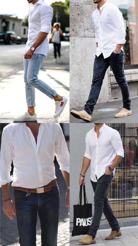 Quần jeans nên phối với áo gì thoải mái