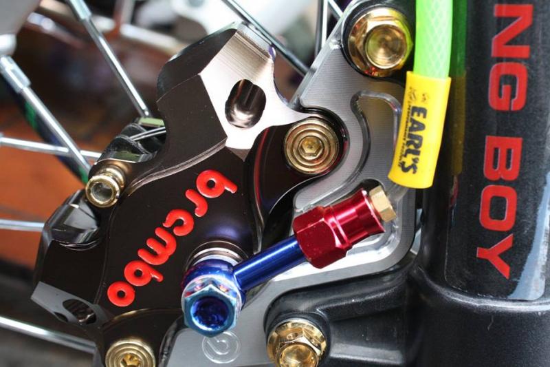 CBR 150 đời cũ phiên bản độ kiểng chơi tết cực đẹp của biker Sài Gòn