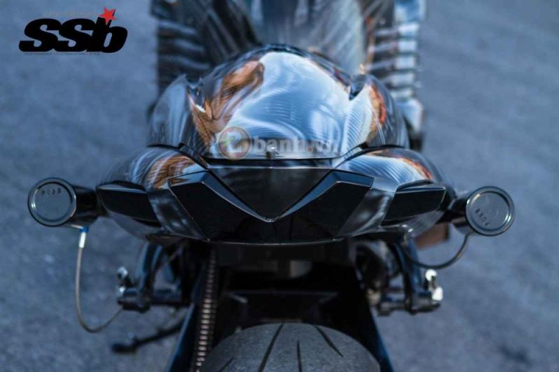Loạt ảnh Kawasaki ZX-14 đời 2006 độ 500hp uy lực