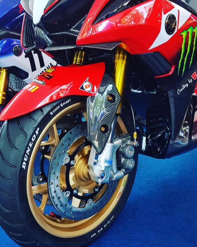 NVX 155 bản nâng cấp ấn tượng mô phỏng Ducati