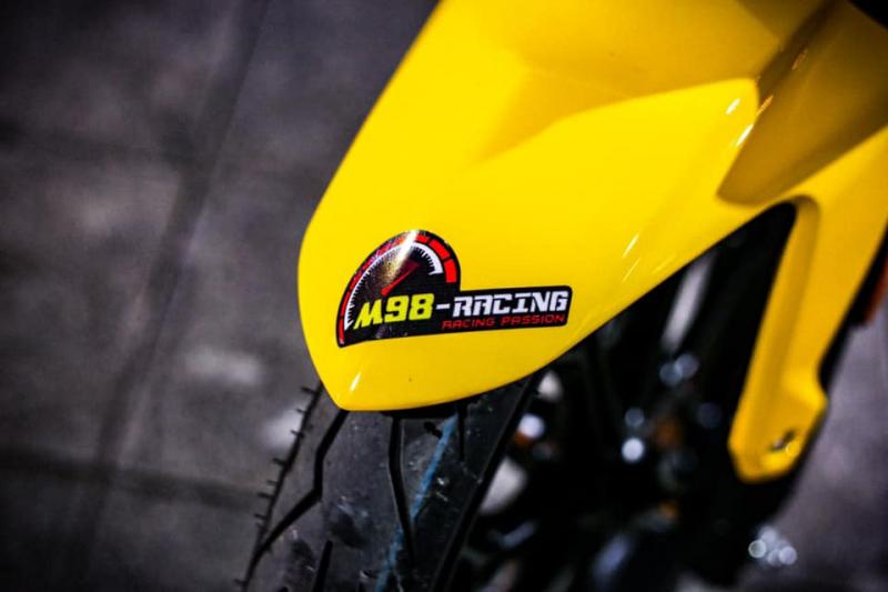 Exciter 135 biến hóa đầy chất chơi của biker cá tính