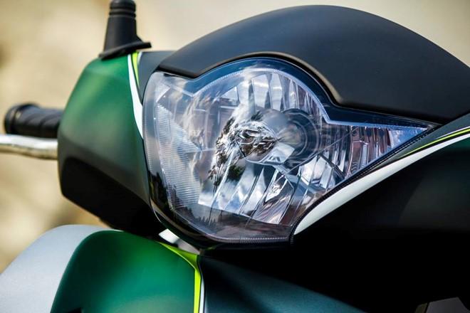Sơn phối màu độc cho bộ cánh Honda SH đầy cá tính