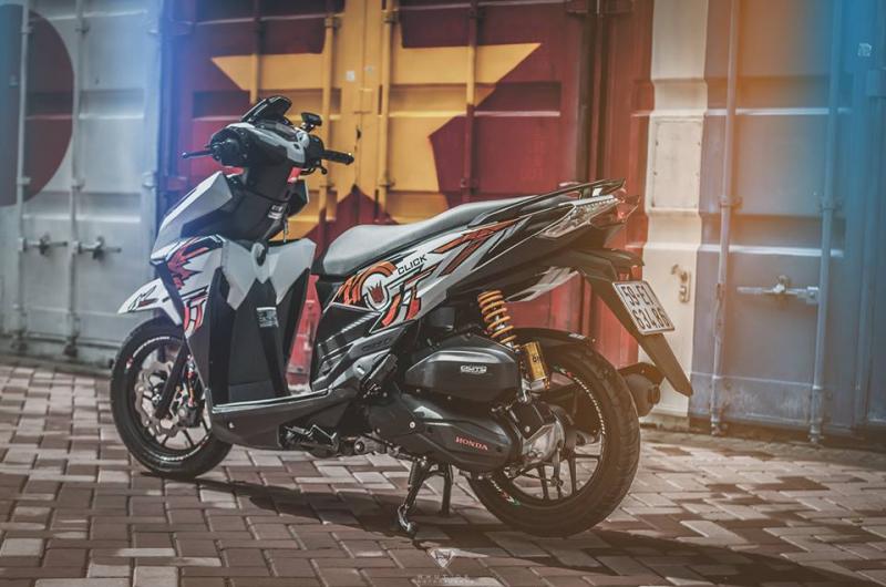Honda Click 125i chất chơi theo phong cách cá tính