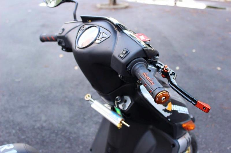 Honda Click độ kiểng đơn giản mà đầy phong cách