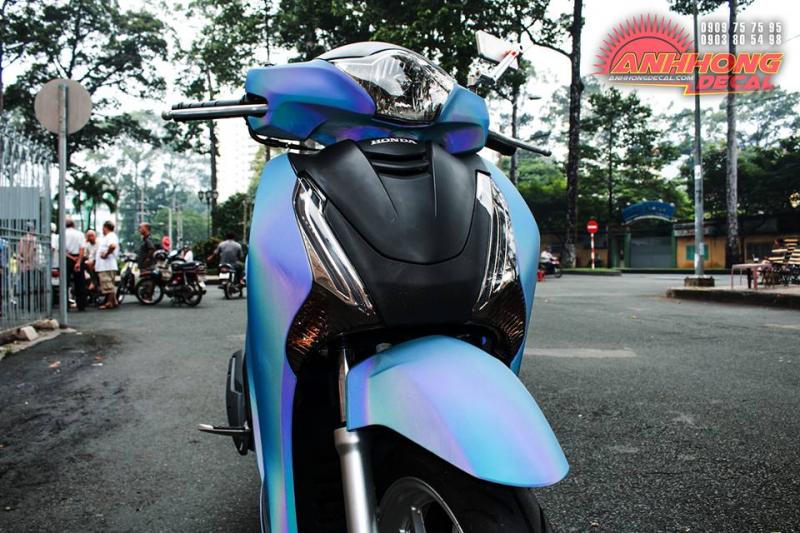 Siêu Honda SH 150 độ cá tính tại Việt Nam lộ ảnh chính thức