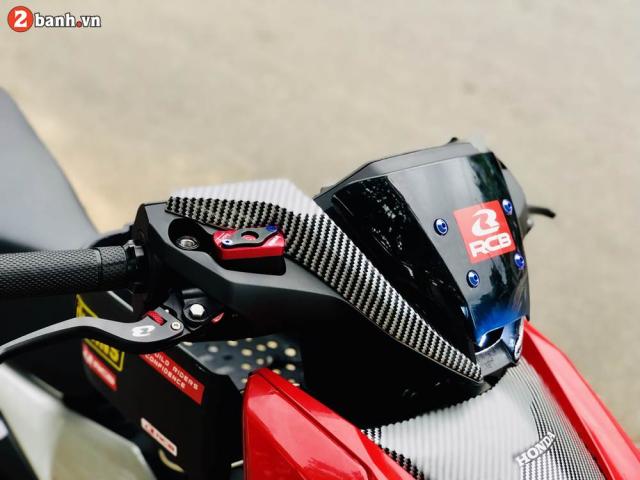 Winner X độ toàn bộ dàn chân theo phong cách Racing