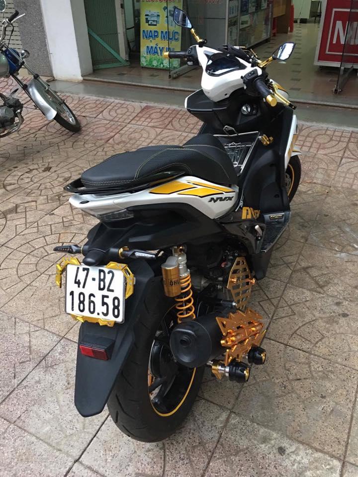 Yamaha NVX 155cc với khối trang bị hoàng kim lấp lánh