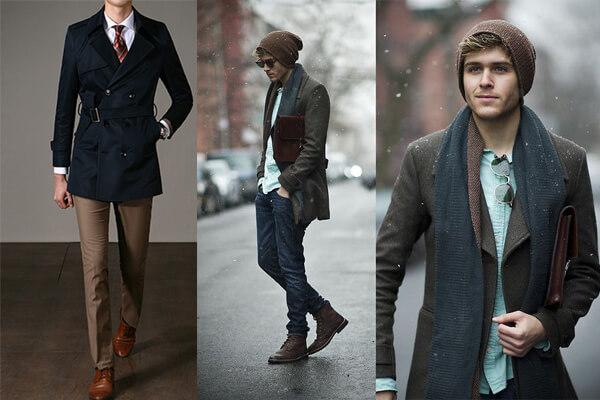 Cách chọn áo khoác măng tô nam cá tính