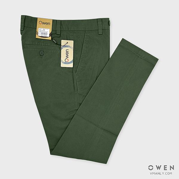 Cách phối đồ với quần kaki Owen cá tính nhất